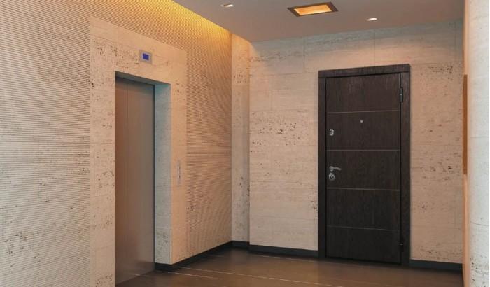 Входная дверь с покрытием Экошпон