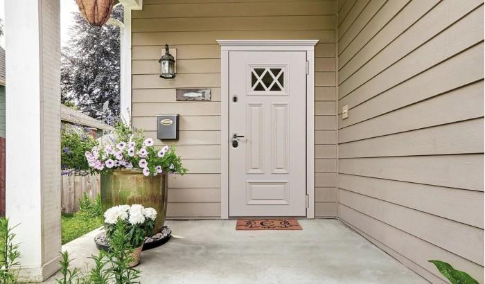 Дверь для дома с покрытием OakPanel