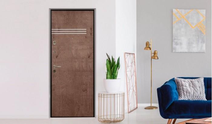 Дверь для квартиры  с покрытием Bjork Panel