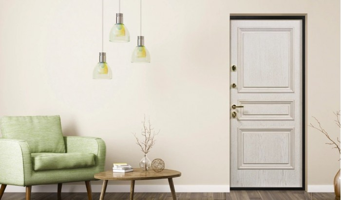 Дверь для квартиры  с покрытием Oak Panel