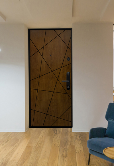 Электронный биометрический замок AQARA N100 - дверь Клео