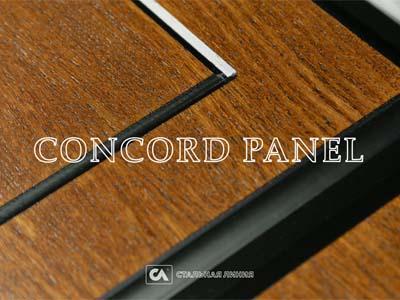 Входные двери в отделке из натурального дерева Concord Panel